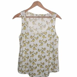 Lucky Brand Banana Tank Top SzS